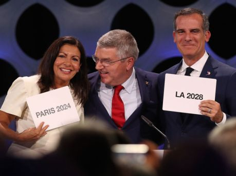131st IOC Session Lima - 2024 & 2028 Olympics Hosts Announcement